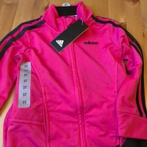 adidas Matching Sets - NWT Adidas Tracksuit - Black and Pink